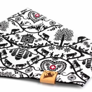 Woodsdog Swiss Collection Hiking Cow Bandana