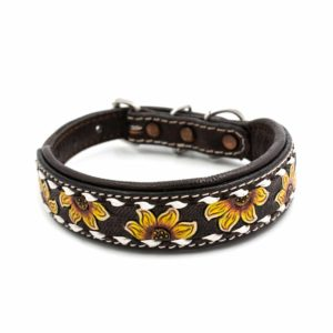 Woodsdog leather collar Sunny