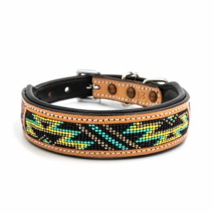 Woodsdog Lederhalsband Cherokee