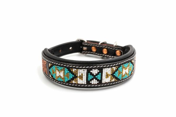 Woodsdog Leather Collar Cheveyo