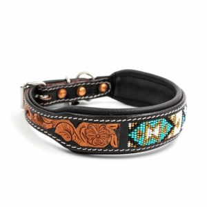 Woodsdog Leather Collar Cheveyo