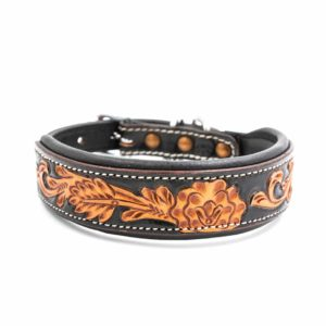 Woodsdog Leather Collar Cheyenne