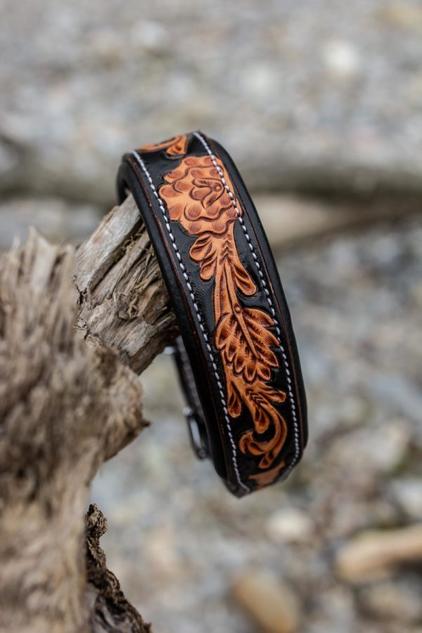 Woodsdog Lederhalsband Cheyenne