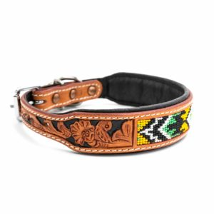 Woodsdog Leather Collar Dakota
