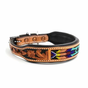 Woodsdog Leather Collar Eyota