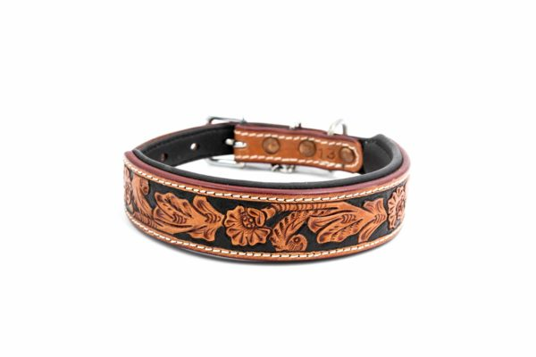 Woodsdog Leather Collar Honovi