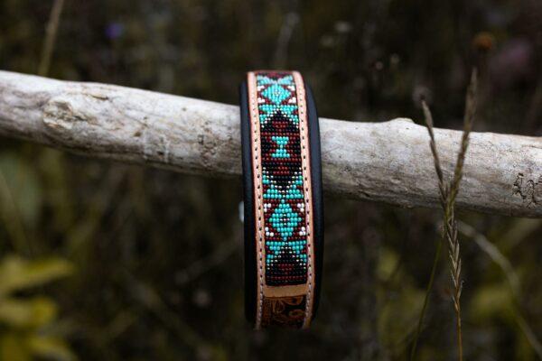 Woodsdog Leather Collar Huyana
